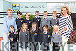 New junior infants at St. Brendan's N.S. Fenit enjoying their first week of school in Mrs Aisling O'Sullivan class