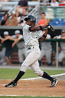 July 5th 2008:  Melky Mesa of the Staten Island Yankees, Class-A affiliate of the NY Yankees, during a game at Falcon Park in Auburn, NY.  Photo by:  Mike Janes/Four Seam Images