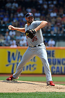 St. Louis Cardinals pitcher Jake Westbrook #35 during a game against the New York Mets at Citi Field on July 21, 2011 in Queens, NY.  Cardinals defeated Mets 6-2.  Tomasso DeRosa/Four Seam Images
