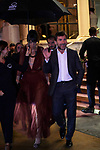 Belen Cuesta and Antonio de la Torre leave the hotel  Maria Cristina Hotel for the 67th San Sebastian Donostia International Film Festival - Zinemaldia.Septembe 22,2019.(ALTERPHOTOS/Yurena Paniagua)
