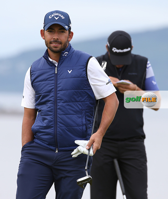 Pablo Larrazabal (ESP) during Round Three of the 2016 Aberdeen Asset Management Scottish Open, played at Castle Stuart Golf Club, Inverness, Scotland. 09/07/2016. Picture: David Lloyd | Golffile.<br /> <br /> All photos usage must carry mandatory copyright credit (&copy; Golffile | David Lloyd)