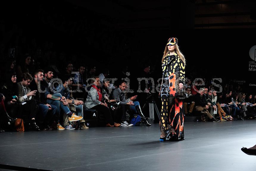 Maria Escote at Mercedes-Benz Fashion Week Madrid 2013