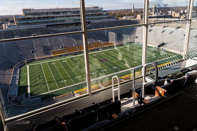 November 21, 2016; Corbett Family Hall 9th floor preferred seating (Photo by Matt Cashore/University of Notre Dame)
