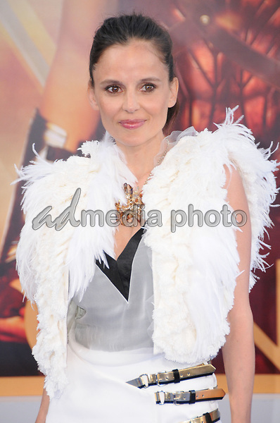 "25 May 2017 - Hollywood, California - Elena Anaya. World  Premiere of Warner Bros. Pictures'  ""Wonder Woman"" held at The Pantages Theater in Hollywood. Photo Credit: Birdie Thompson/AdMedia"