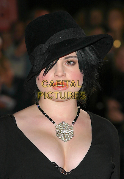 KELLY OSBOURNE.National Television Awards 2003 Held At The Royal Albert Hall, South Kensington, London.28th October 2003  .Ref: Ten.headshot, portrait, necklace, jewellery.www.capitalpictures.com.sales@capitalpictures.com.©Capital Pictures