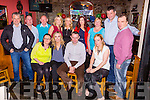 Anthony McKenna, Firies seated centre who celebrated his 40th birthday with his family and friends in Sheahans bar Firies on Saturday night
