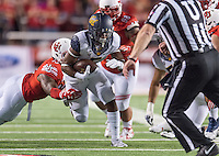 SALT LAKE CITY, UT - October 10, 2015: The Cal Bears Football team vs the Utah Utes at Rice-Eccles Stadium in Salt Lake City, UT.  Final score, Cal Bears 24, Utah Utes 30.