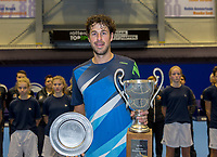 Rotterdam, Netherlands, December 17, 2017, Topsportcentrum, Ned. Loterij NK Tennis, Final man's single: Robin Haase (NED) winner<br /> Photo: Tennisimages/Henk Koster