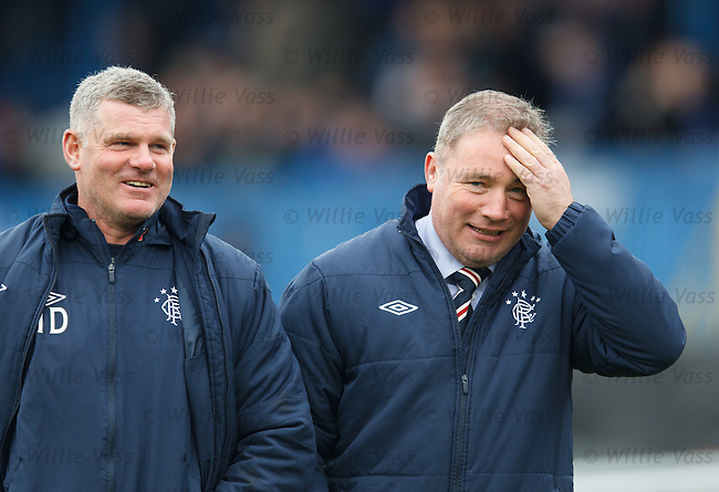 Ally McCoist and Ian Durrant
