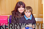Mary Kelly Godley with her son Adam who has Autism at the Autism unit at Killahan National School.