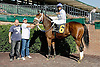 City Genius winning at Delaware Park on 10/22/12