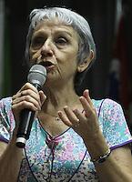 ATENCAO EDITOR: FOTO EMBARGADA PARA VEICULO INTERNACIONAL - SAO PAULO, SP, 29 NOVEMBRO 2012 - SEMINARIO E-DEMOCRACIA: PARLAMENTO E POLITICA NA ERA DIGITAL – Tania Mendes do Comite Do Portal da ALESP que participou do debate sobre as novas relacoes entre a sociedade e o Estado presentes na Lei de Acesso a Informacao e o movimento crescente por transparencia e abertuda de dados que foi o tema do seminario realizado na assembleia legislativa do estado na zona sul da capital nessa quinta, 29. (FOTO: LEVY RIBEIRO / BRAZIL PHOTO PRESS)