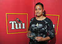 Women's Player of the Year Kiri Mei at the Wellington Rugby Union Tui Awards at the Embassy Theatre, Wellington, New Zealand on Tuesday, 30 October 2012. Photo: Dave Lintott / lintottphoto.co.nz