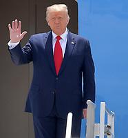 JUL 10 President Trump Visits South Florida
