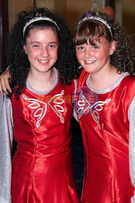 Natasha Jennings and Rebecca Byrne at the Lord Mayors Show in the Bridgeford..Picture: Paul Mohan/Newsfile
