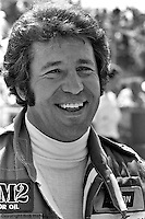 INDIANAPOLIS, IN: Mario Andretti in the pit lane before practice for the Indianapolis 500 on May 29, 1977, at the Indianapolis Motor Speedway.