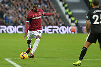 Pedro Obiang Of West Ham United during West Ham United vs Burnley, Premier League Football at The London Stadium on 3rd November 2018