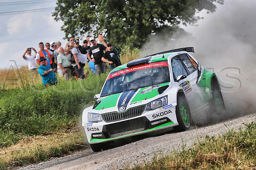 02.07.2016. Mikolajki, Poland. WRC Rally of Poland, stages 12-17.  LAPPI