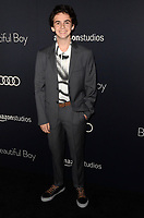 BEVERLY HILLS, CA - OCTOBER 8: Jack Dylan Grazer at the Los Angeles Premiere of Beautiful Boy at the Samuel Goldwyn Theater in Beverly Hills, California on October 8, 2018. <br /> CAP/MPI/DE<br /> ©DE//MPI/Capital Pictures