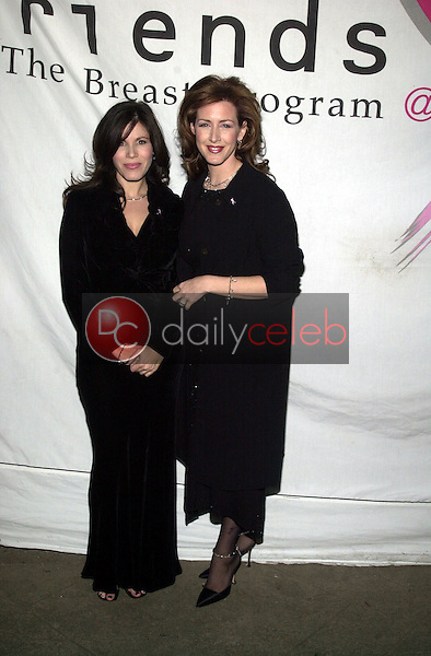 Tricia Leigh Fisher and Joely Fisher