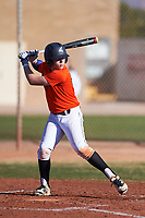 Blake Bonds (45), from Kennewick, Washington, while playing for the Orioles during the Under Armour Baseball Factory Recruiting Classic at Gene Autry Park on December 30, 2017 in Mesa, Arizona. (Zachary Lucy/Four Seam Images)