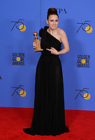 Rachel Brosnahan at the 75th Annual Golden Globe Awards at the Beverly Hilton Hotel, Beverly Hills, USA 07 Jan. 2018<br /> Picture: Paul Smith/Featureflash/SilverHub 0208 004 5359 sales@silverhubmedia.com
