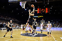 New Zealand Tall Blacks&rsquo; Jordan Ngatai in action during the FIBA World Cup Basketball Qualifier - NZ Tall Blacks v Syria at TSB Bank Arena, Wellington, New Zealand on Sunday 2 2018. <br /> Photo by Masanori Udagawa. <br /> www.photowellington.photoshelter.com