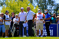 Mike Inglis-Honorary Starter during the second round of the Lyoness Open powered by Organic+ played at Diamond Country Club, Atzenbrugg, Austria. 8-11 June 2017.<br /> 09/06/2017.<br /> Picture: Golffile | Phil Inglis<br /> <br /> <br /> All photo usage must carry mandatory copyright credit (&copy; Golffile | Phil Inglis)