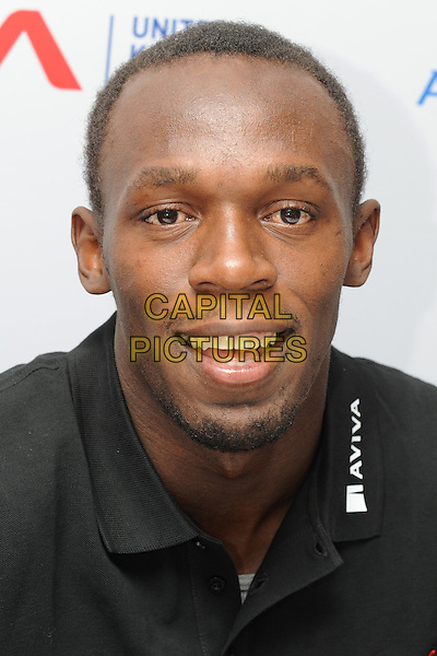 21/7/2009: Usain Bolt, fastest man on the planet speaks at news conference ahead of  Aviva London Grand Prix, The Metropolitan Hotel, London<br /> CAP/CK<br /> &copy;CK/Capital Pictures