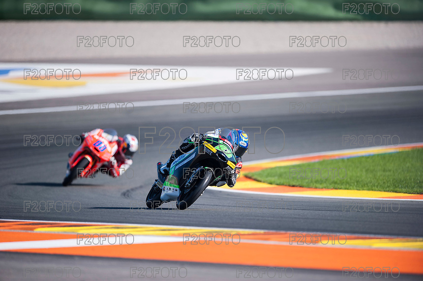 VALENCIA, SPAIN - NOVEMBER 8: Zulfahmi Khairuddin during Valencia MotoGP 2015 at Ricardo Tormo Circuit on November 8, 2015 in Valencia, Spain