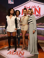 NEW YORK, NY - JUNE 18: Taraji P. Henson, Regina Hall, Lala Anthony and Meagan Good, visit 106 & Park at BET studio on June 18, 2014 in New York City.© HP/Starlitepics. ***off embargo***