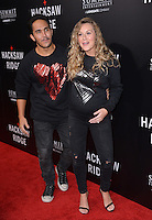 LOS ANGELES, CA. October 24, 2016: Actress Alexa PenaVega, aka Alexa Vega, &amp; husband actor Carlos PenaVega, aka Carlos Pena, at the Los Angeles premiere of &quot;Hacksaw Ridge&quot; at The Academy's Samuel Goldwyn Theatre, Beverly Hills.<br /> Picture: Paul Smith/Featureflash/SilverHub 0208 004 5359/ 07711 972644 Editors@silverhubmedia.com