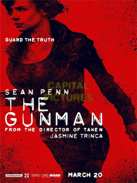 POSTER ART<br /> in The Gunman (2015) <br /> *Filmstill - Editorial Use Only*<br /> CAP/NFS<br /> Image supplied by Capital Pictures