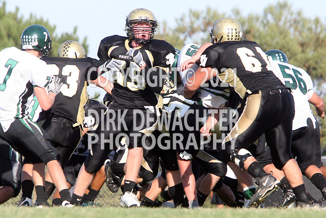 October 9, 2009: Gregory Hoffman (#55) Robby Ahumada (#61)