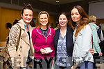 Michelle Reidy, Scartaglin, Niamh Burke Castleisland, Antoinette O'Leary Rathmore and Pamela Costello Tralee at the Kerry Autism Action one day conference at the  IT Tralee Solas Building on Saturday