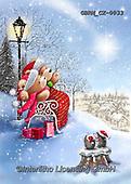 Roger, CHRISTMAS ANIMALS, WEIHNACHTEN TIERE, NAVIDAD ANIMALES, paintings+++++,GBRMCX-0033,#xa#