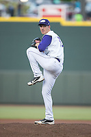 Winston-Salem Dash starting pitcher Matt Heidenreich (32) in action against the Lynchburg Hillcats at BB&T Ballpark on May 29, 2015 in Winston-Salem, North Carolina.  The Dash defeated the Hillcats 8-1.  (Brian Westerholt/Four Seam Images)