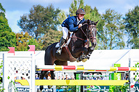 AUS-Clint Beresford rides Emmaville Jitterbug during the Horse of the Year Showjumping (Olympic Cup). Final-2nd. 2018 NZL-Horse of the Year Show. Hastings. Sunday 18 March. Copyright Photo: Libby Law Photography
