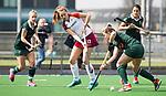ALMERE - Hockey - Overgangsklasse competitie dames ALMERE- ROTTERDAM (0-0) .  Lucca van der Hoorn (Almere) . links Susie Gilbert, rechts  COPYRIGHT KOEN SUYK