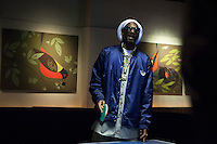 "Snoop Dogg now known as Snoop Lion plays ping pong as he attends an event organized by MLB and EA Sports for launching the last soccer game named ""FIFA Soccer 13"" in New York . Photo by Eduardo Munoz Alvarez / VIEW."