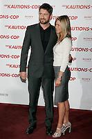 Gerard Butler and Jennifer Aniston.Bounty Hunter Photocall.Hotel De Rome, Berlin, Germany.29 March 2009.Photo by Milestone Photo