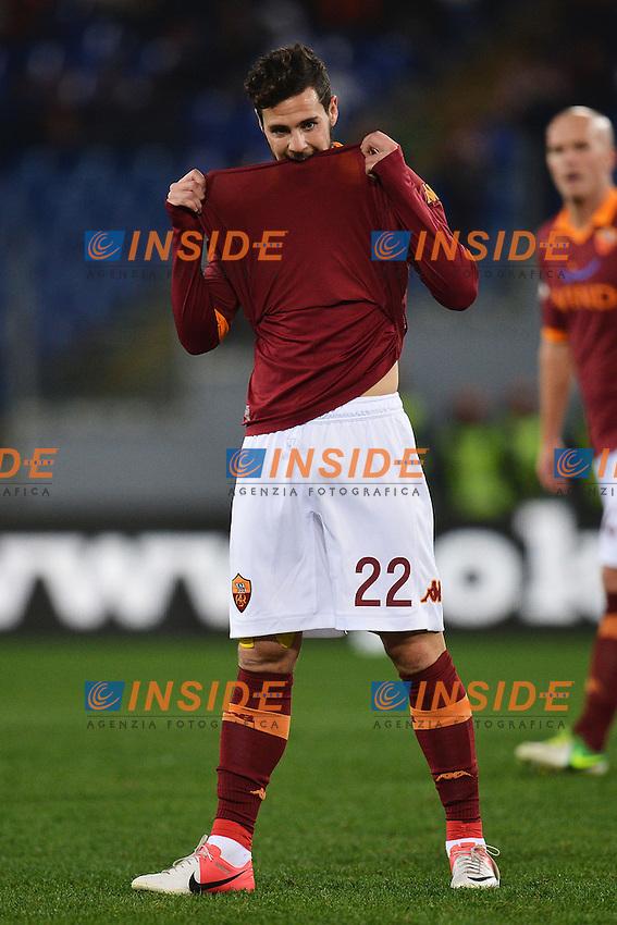 Mattia Destro Roma.Roma 8/12/2012 Stadio Olimpico.Football Calcio 2012/2013 Serie A.Roma Vs Fiorentina.Foto Andrea Staccioli Insidefoto