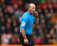 Referee Mike Dean during AFC Bournemouth vs Watford, Premier League Football at the Vitality Stadium on 12th January 2020