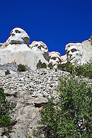 Mount Rushmore National Memorial in Keystone, South Dakota on August 13, 2010.