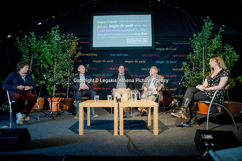 Tuesday 27 May 2014, Hay on Wye, UK<br /> Pictured: General Views of the Hay Festival<br /> Re: The Hay Festival, Hay on Wye, Powys, Wales UK.