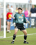 Jamie Pagliarulo at SAS Stadium in Cary, North Carolina on 5/24/03 during a game between the Carolina Courage and San Diego Spirit. San Diego won the game 2-1.