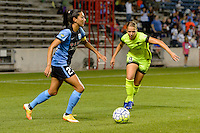 Chicago, IL - Sunday Sept. 04, 2016: Christen Press during a regular season National Women's Soccer League (NWSL) match between the Chicago Red Stars and Seattle Reign FC at Toyota Park.