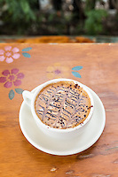 A mocha at Buster's, South Pasadena, California.