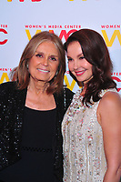 NEW YORK, NY - OCTOBER 26: Gloria Steinem and Ashley Judd at the Women's Media Center 2017 Women's Media Awards at Capitale on October 26, 2017 in New York City. Credit: John Palmer/MediaPunch /NortePhoto.com