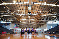 10.10.2017 Silver Ferns in action during the  Silver Ferns training in Adelaide. Mandatory Photo Credit ©Michael Bradley.